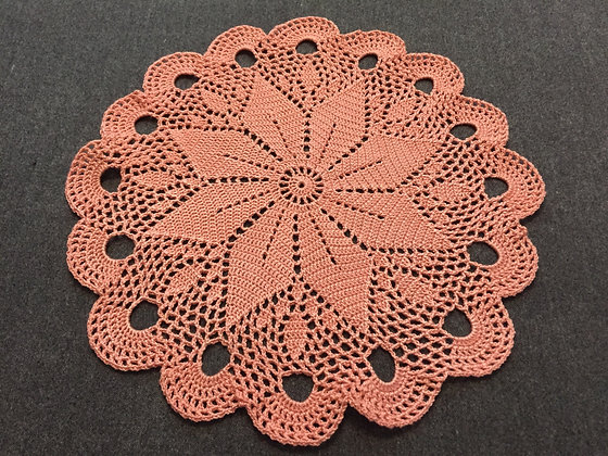 Crochet doily/mandala/dreamcatcher/handmade/flower/home decor/'Rosa'