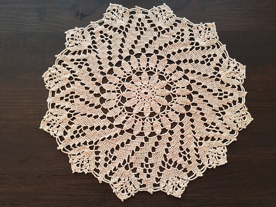 Crochet doily/mandala/dreamcatcher/handmade/flower/home decor/'Pimrose'