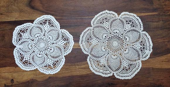 Crochet doily/mandala/dreamcatcher/handmade/flower/home decor/'Marigold'