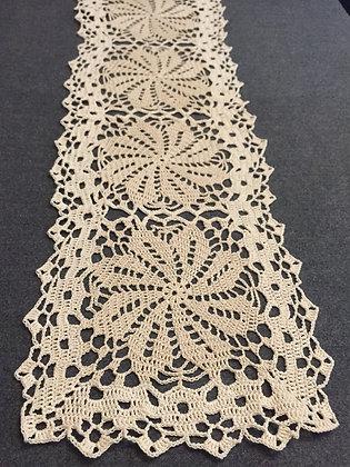 Crochet doily/table runner/handmade/flower/home decor/'Senna'
