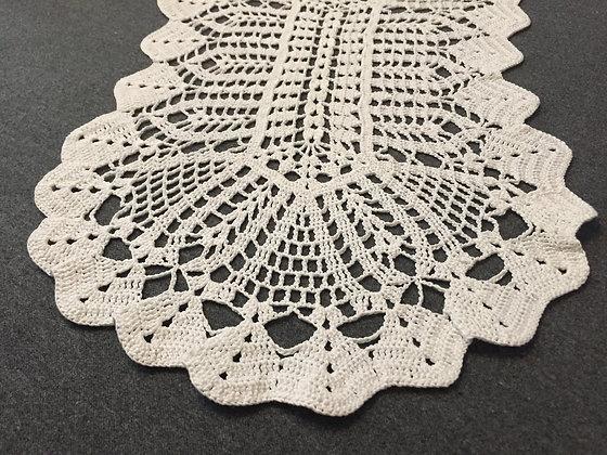 Crochet doily/mandala/dreamcatcher/table runner/handmade/'Holly'