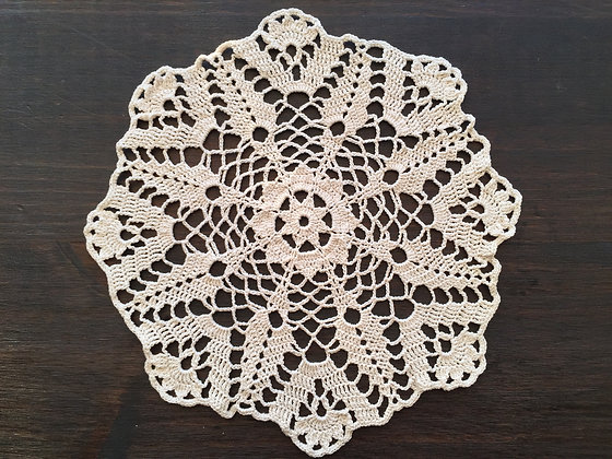 Crochet doily/mandala/dreamcatcher/handmade/flower/home decor/'Gladiolus'