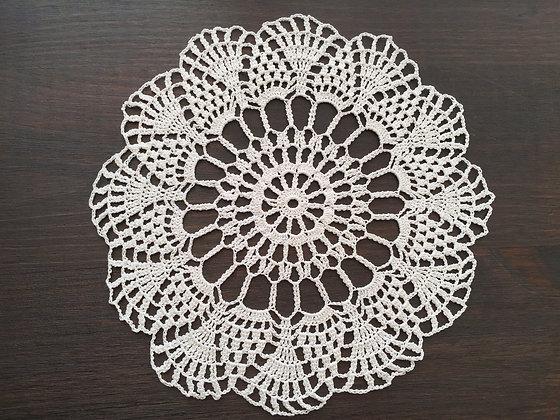 Crochet doily/mandala/dreamcatcher/handmade/flower/home decor/'Daffodil'