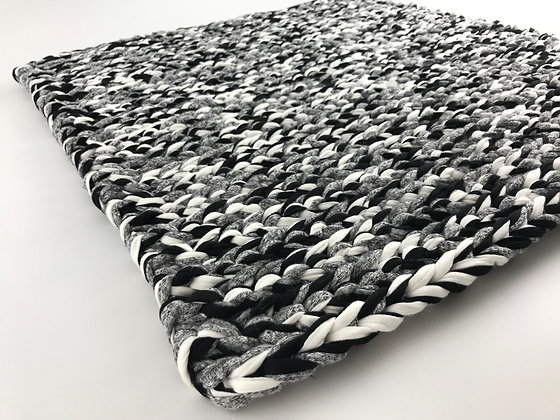Rug/crochet/floor runner/nursery decor/home decor/handmade/cotton/T-shirt yarn