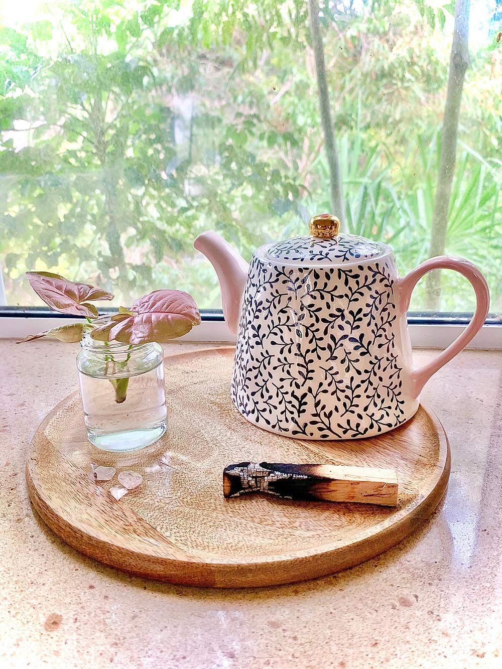 damiana tea, intuition bath blend