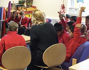 STEP4SEAS children in classroom