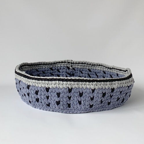 Grey-Denim Basket