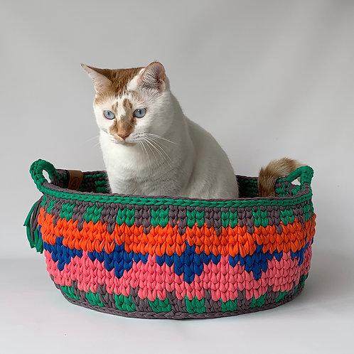 Multi color Ethnic Basket
