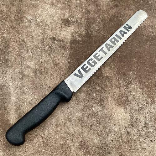 """Serrated 10"""" Vegetarian Knife"""