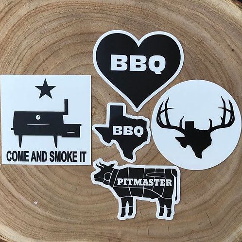 Post Oak Stickers Pack