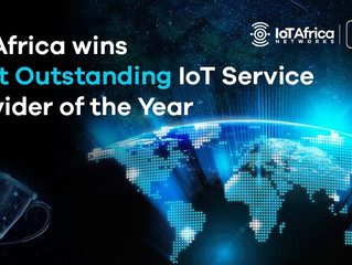 IoT Africa wins Most Outstanding IoT Service Provider of the Year
