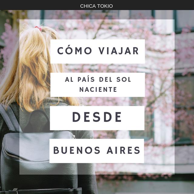 Aerolíneas y Rutas Japón-Buenos Aires