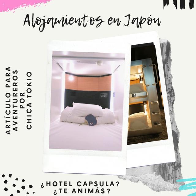 ¿Hotel capsula en Japón? ¿Te animás?