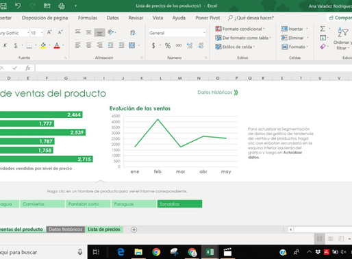Plantillas en Excel
