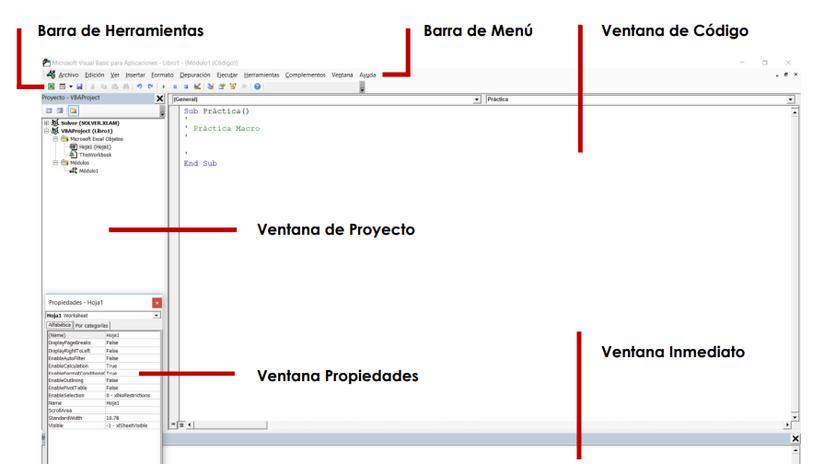 Conoce la programación de Macros en Visual Basic