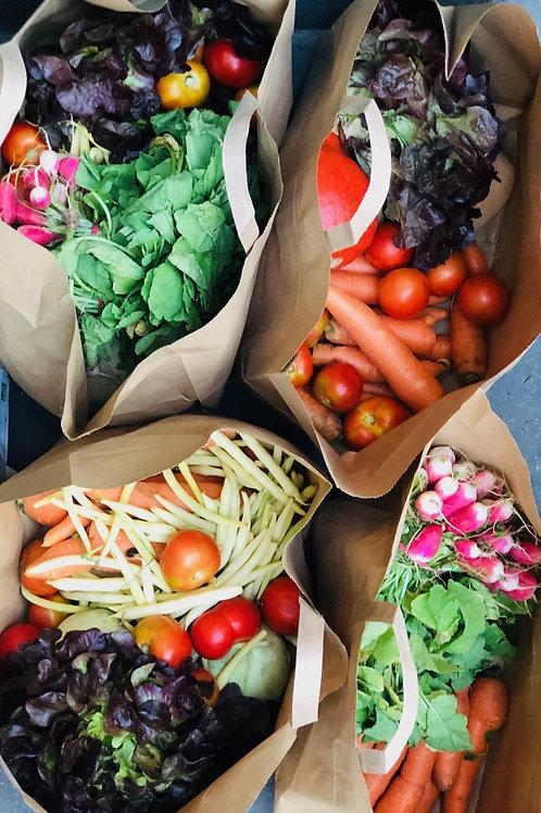 Panier de légumes à 20€