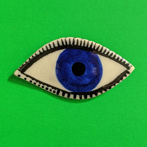 Eye Brooch .08