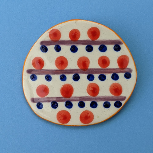 Dots and Lines Brooch