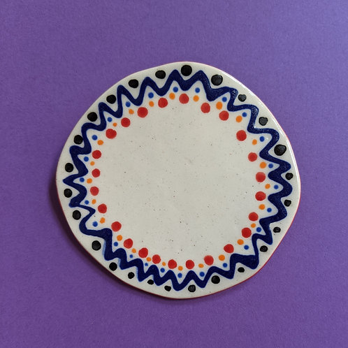 Circle Design Brooch