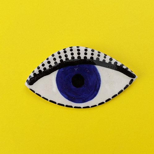 Eye Brooch .07