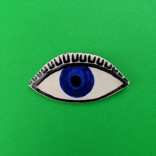 Eye Brooch .08