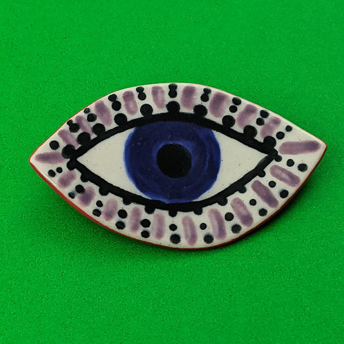 Eye Brooch .04