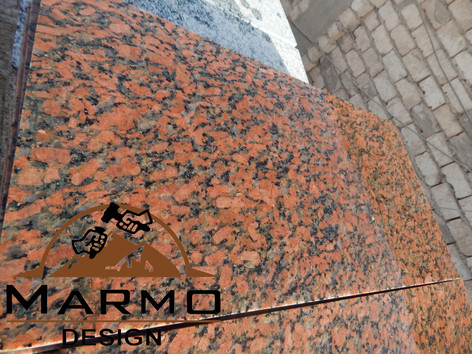 Red Aswan,Granito Egipcio, pulido losas
