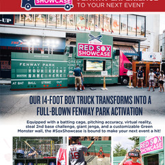 Red Sox Showcase Flyer