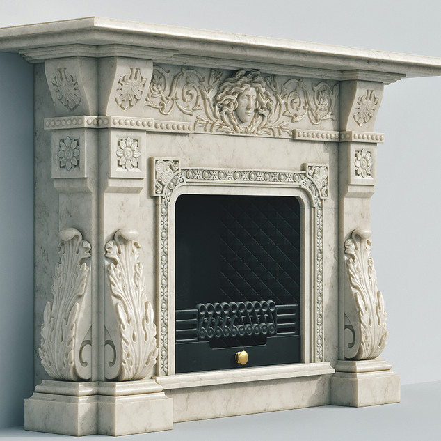 Marble Fireplace - MD111.jpg