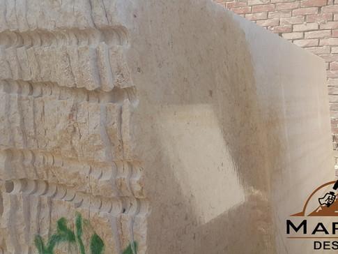 رخام مصري - خاتمية - الواح غير ملمعة - الواح غشيمة
