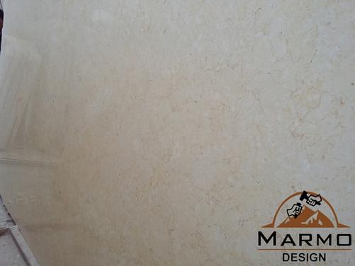 Galala Cream- Marbre de l'Egypte Marbre égyptien Galala Cream Tranches Polies