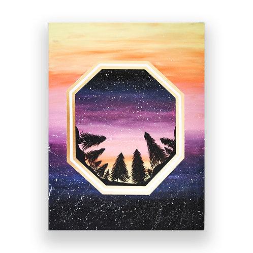 "Painting Print (8"" x 10.5"")"