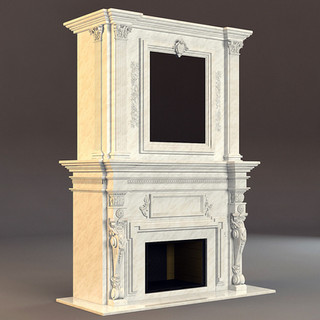 Marble Fireplace - MD133.jpg
