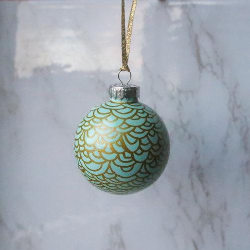 Sea Scalloped Tree Ornament