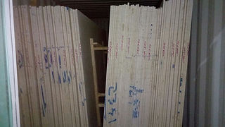Egyptian marble Slabs packed in normal way