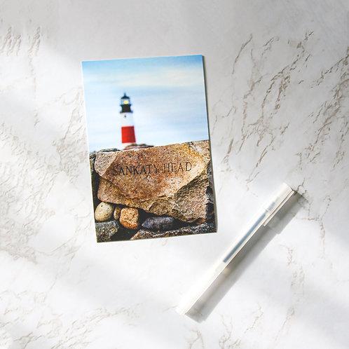"4"" x 6"" Nantucket Sankaty Lighthouse Matte Notecards (Single or Set of 10)"