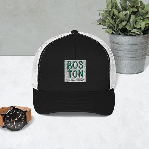 Boston Mesh Baseball Cap: Made-To-Order