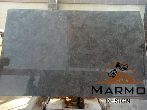 Melly Grey Fossils - Egyptian marble - polished slabs