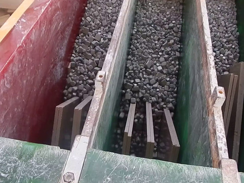 Sinai Pearl  - Marbre de l'Egypte Marbre égyptien Treista  faire de finition tumbled en notre usine