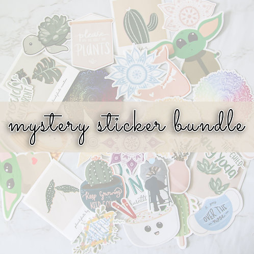 Mystery Sticker Bundle (3 Stickers)