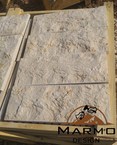 Galala beige - Split face tiles - Marble Egypt