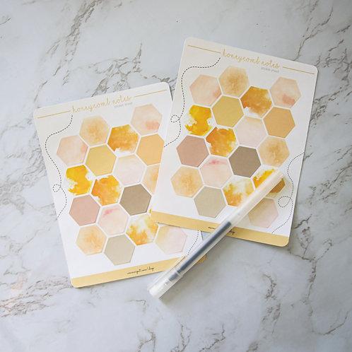 Honeycomb Notes Sticker Sheet (Matte)