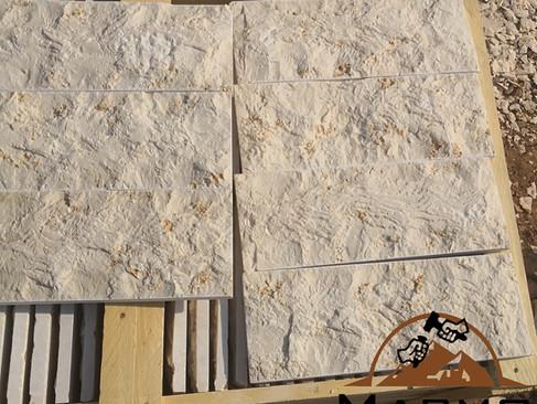 Galala beige split face tiles