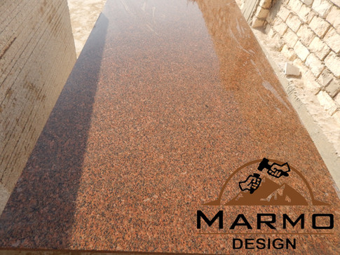Red royal– Granite égyptien Red royal– Granite tranches