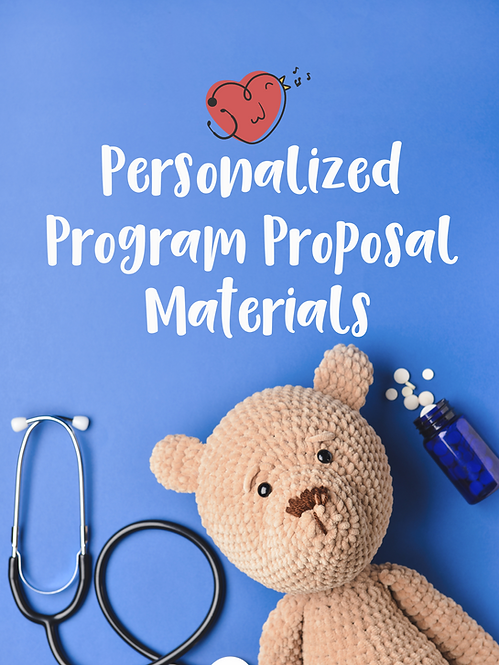 Personalized Program Proposal Materials