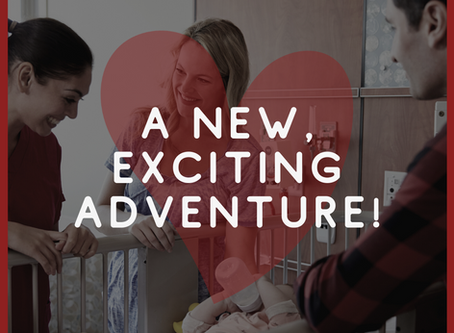 A New, Exciting Adventure!