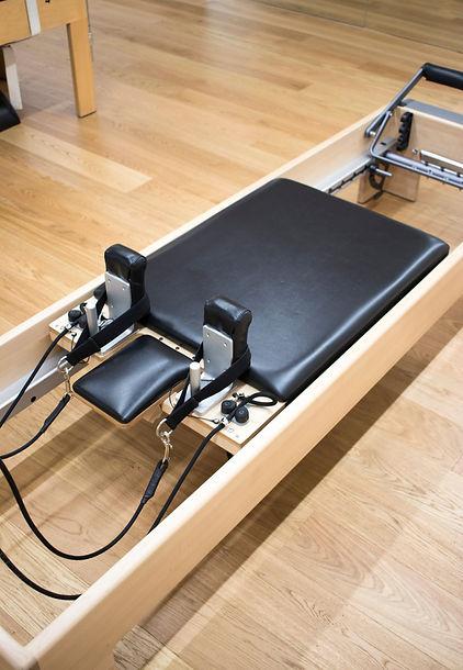 Pilates machine fitness studio gym room