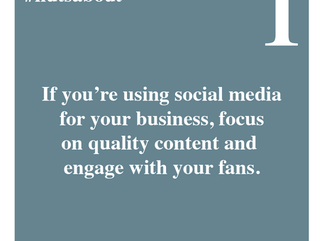 Quality social media for your business