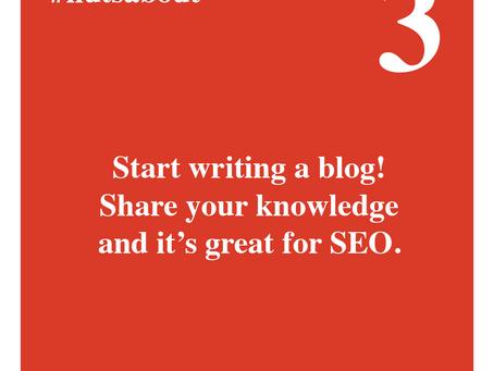 Start writing a blog
