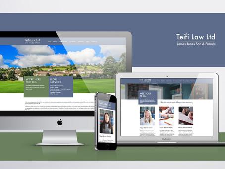 New Website for Teifi Law